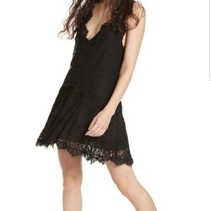 Free People Heart In Two lace mini dress size XS